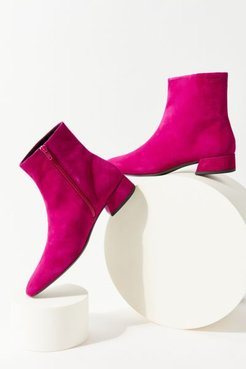 Joyce Suede Boot - Pink 11 at Urban Outfitters