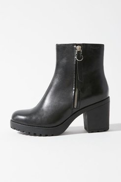 Grace Zip Boot - Black 10 at Urban Outfitters
