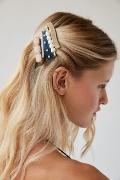 Let's Party Hair Clip Set - Blue at Urban Outfitters
