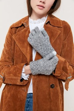 UO Knit Tech Glove - Black at Urban Outfitters