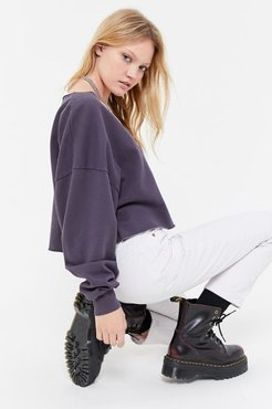 Beatrice Batwing Sweatshirt - Grey Xl at Urban Outfitters