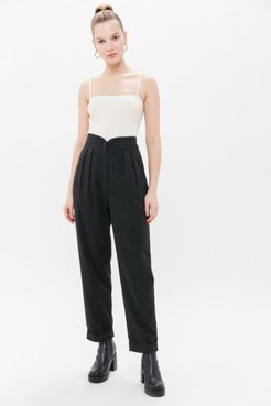 Kath Tapered Pant - Grey 6 at Urban Outfitters