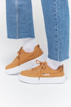 FILA UO Exclusive Sandblast Low Women's Sneaker - Brown 8 at Urban Outfitters