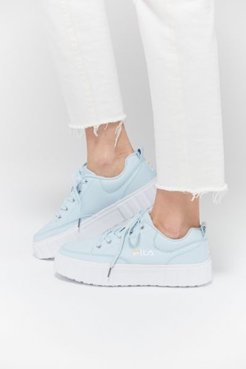 FILA UO Exclusive Sandblast Low Women's Sneaker - Blue 10 at Urban Outfitters