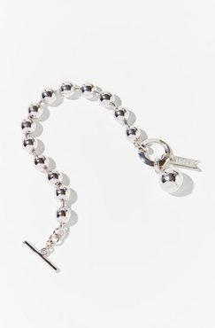 Dot Chain Bracelet - Silver at Urban Outfitters