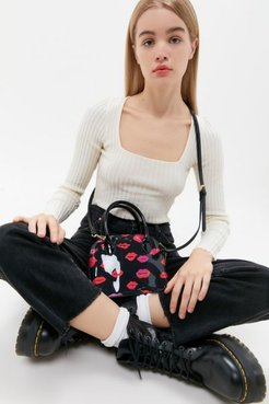 XOX From Betsey Mini Satchel Bag - Black at Urban Outfitters