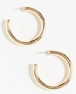 Jill Hoop Earring - Gold at Urban Outfitters