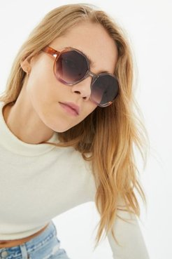 Dion Oversized Round Sunglasses - Assorted at Urban Outfitters