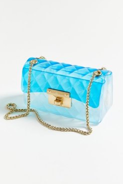 UO Exclusive So Jelly Crossbody Bag - Blue at Urban Outfitters