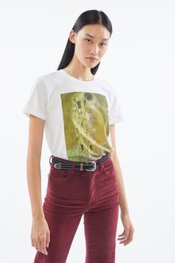 Klimt The Kiss Tee - White S at Urban Outfitters