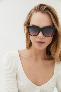 Nelly Oversized Square Sunglasses - Brown at Urban Outfitters