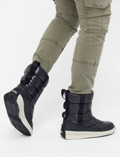 Sorel Out 'N About™ Puffy Mid Boot - Black 6 at Urban Outfitters