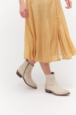 Billy Inside Zip Boot - Beige 6 at Urban Outfitters