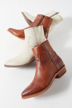 Billy Inside Zip Boot - Brown 9 at Urban Outfitters