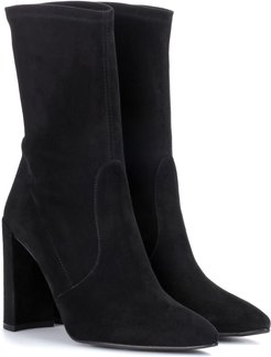 Clinger suede boots
