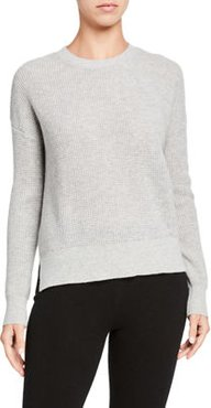 Thermal Stitch Cashmere Sweater