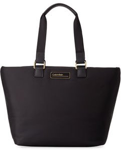 Jaina Nylon Tote Zip Bag