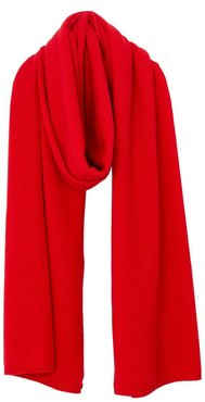 Alma Cashmere Scarf In Red