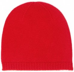 Nao Cashmere Beanie In Red