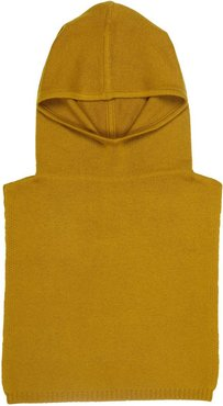 Betty Cashmere Coif In Mustard Yellow