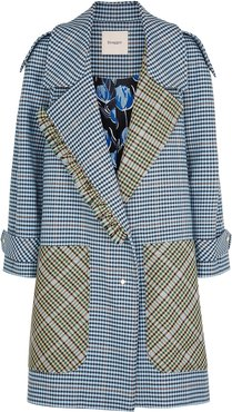 Marla Checked Wool-blend Coat