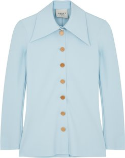 Light blue jersey shirt