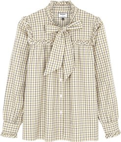 Bella Checked Cotton Shirt