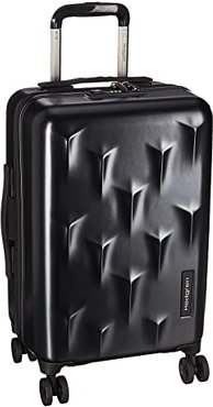 20 Carve Small Carry-On Spinner (Black) Carry on Luggage