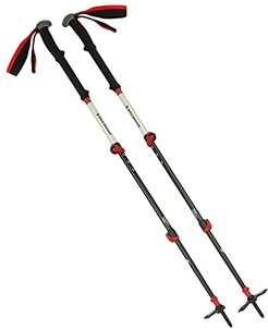 140 cm Expedition 3 Ski Poles (No Color) Outdoor Sports Equipment