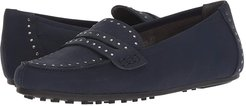 Self Drive (Navy) Women's Slip on  Shoes