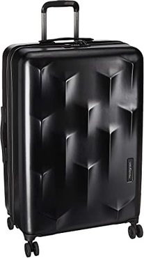 29 Carve LEX Expandable Spinner (Black) Luggage