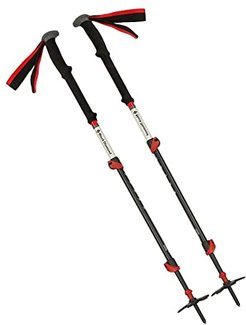 125 cm Expedition 3 Ski Poles (No Color) Snowboards Sports Equipment