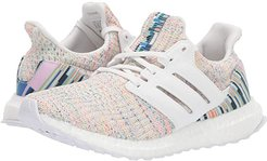 UltraBOOST (Crystal White/Crystal White/Glow Green) Women's Running Shoes