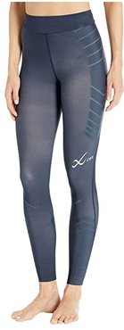 Speed Model Compression Tights (Navy) Women's Casual Pants