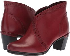 Cobb Hill Rashel V Cut Boot (Bordeaux) Women's Boots