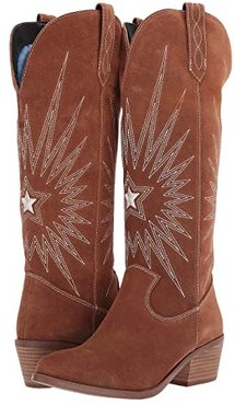Star Is Born (Whiskey Suede) Cowboy Boots