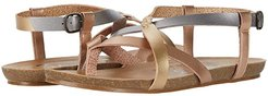 Granola-B (Pearl Pewter/Pearl Gold/Pearl Rose Gold) Women's Sandals