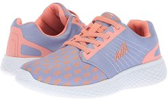 Avi-Kismet (Toddler/Little Kid/Big Kid) (Iced Periwinkle/Coral Glow/Violet Stone) Girl's Shoes