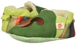 Easy On Moc - Tots (Infant) (Green Squirrel) Girls Shoes