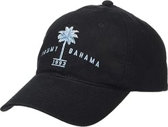 Unstructured Garment Washed Twill Baseball Cap (Black) Caps