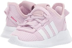 U_Path Run EL I (Toddler) (Aero Pink/White) Girls Shoes
