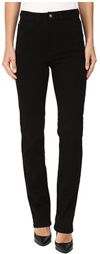 Suzanne Straight Leg/Love Denim in Black (Black) Women's Jeans