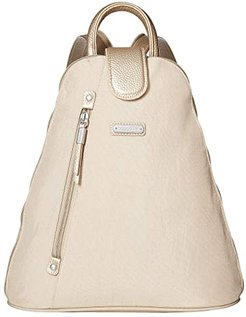 New Classic Metro Backpack with RFID Phone Wristlet (Champagne Shimmer) Backpack Bags