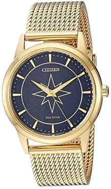 Captain Marvel FE7062-51W (Gold Tone) Watches