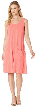 Drape Dress (Vibrant Poppy) Women's Dress