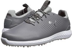 Ignite Power Adapt Leather (Quiet Shade/Silver/White) Men's Golf Shoes