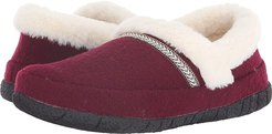 Victoria (Burgundy) Women's Slippers