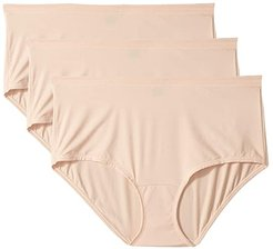 Blissful Ultra-Comfort Brief 3-Pack (Sugar Baby/Sugar Baby/Sugar Baby) Women's Underwear