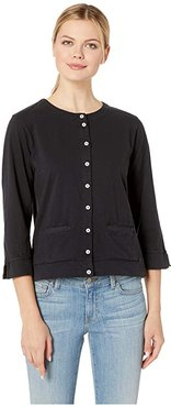 Monterey Cardigan (Black) Women's Clothing