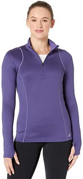 Thermopolis Winter 1/2 Zip (Purple Matte/Dusty Purple) Women's Clothing